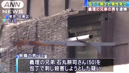 東京都目黒区五本木男性刺殺で義理逮捕1.jpg