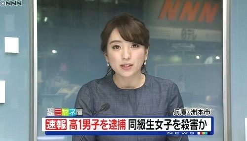 鈴木美穂アナがニュースを伝えます洲本市殺人.jpg